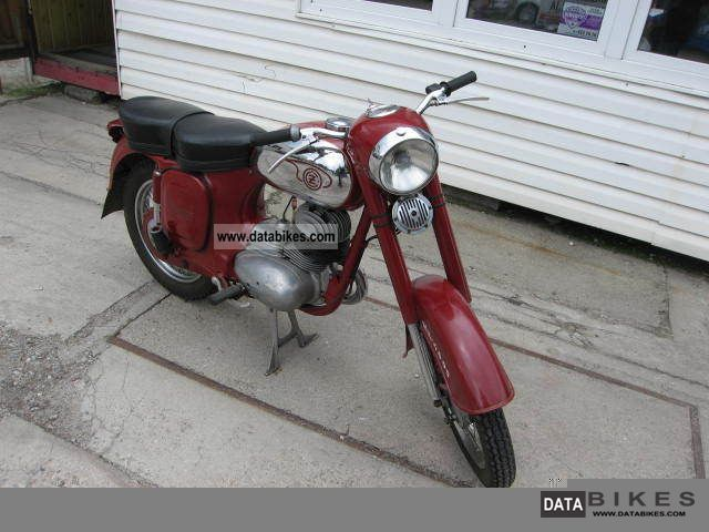 Jawa  175 1962 Vintage, Classic and Old Bikes photo