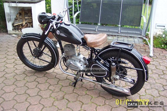 Jawa  CZ 150c 1950 Vintage, Classic and Old Bikes photo