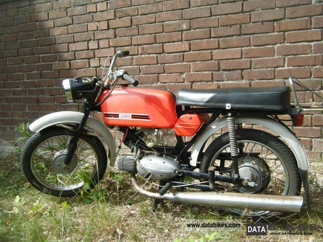 1977 Jawa  23A Mustang 60km / h approval Motorcycle Motor-assisted Bicycle/Small Moped photo