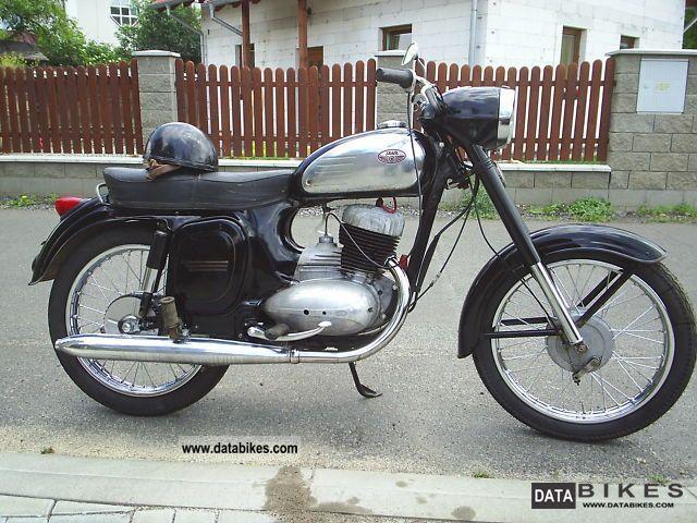 1968 Jawa  250/590 Sports Motorcycle Motorcycle photo