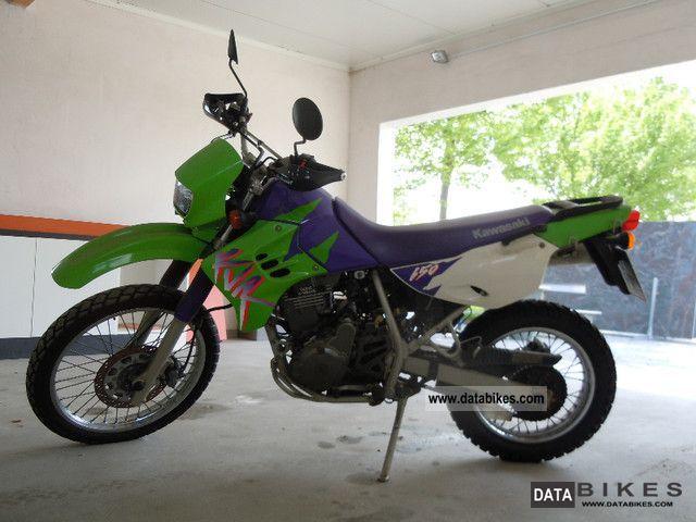 1999 Kawasaki  KLR650 Motorcycle Enduro/Touring Enduro photo