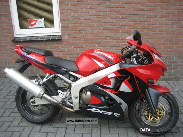 1999 Kawasaki  ZX6R, DC :03-1999, PRICE 1499 EURO Motorcycle Motorcycle photo