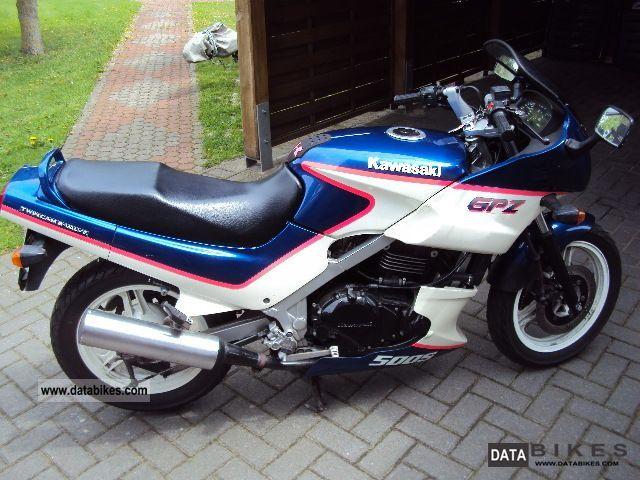 1995 Kawasaki  GPZ 500 S Motorcycle Motorcycle photo