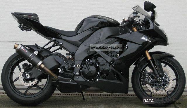 2008 Kawasaki  ZX 10 R Ninja Mivv Motorcycle Sports/Super Sports Bike photo