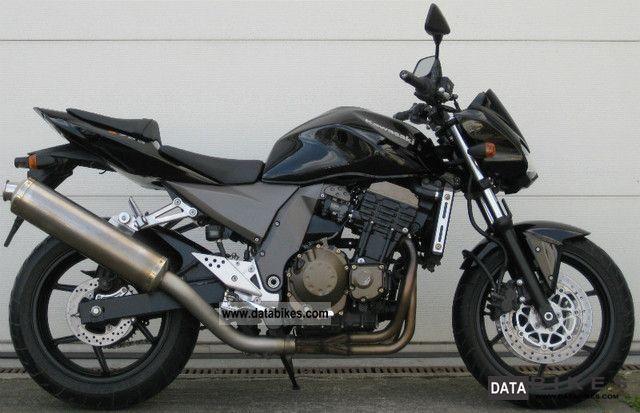 2004 Kawasaki  Z 750 Motorcycle Streetfighter photo