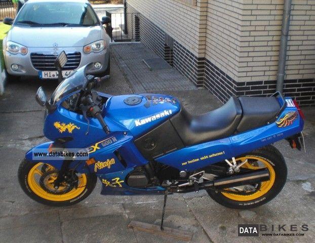 1993 Kawasaki  GPX 600 R Motorcycle Sport Touring Motorcycles photo