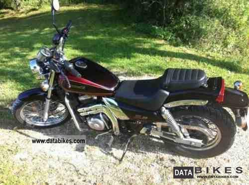 1996 Kawasaki  EL 250 Motorcycle Chopper/Cruiser photo