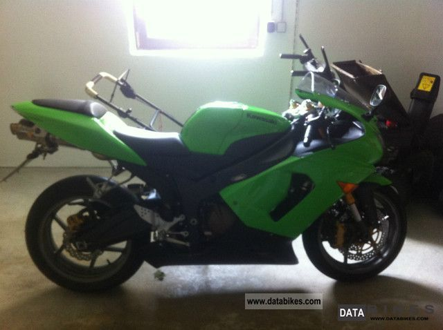 2005 Kawasaki  zx6r Motorcycle Sports/Super Sports Bike photo