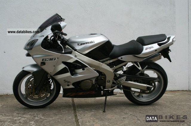 2002 Kawasaki  ZX 6 R Motorcycle Sports/Super Sports Bike photo
