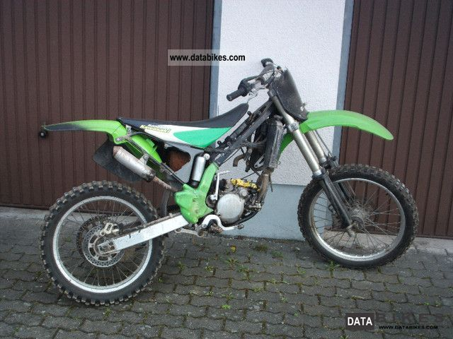 1996 Kawasaki  kx 125 Motorcycle Rally/Cross photo