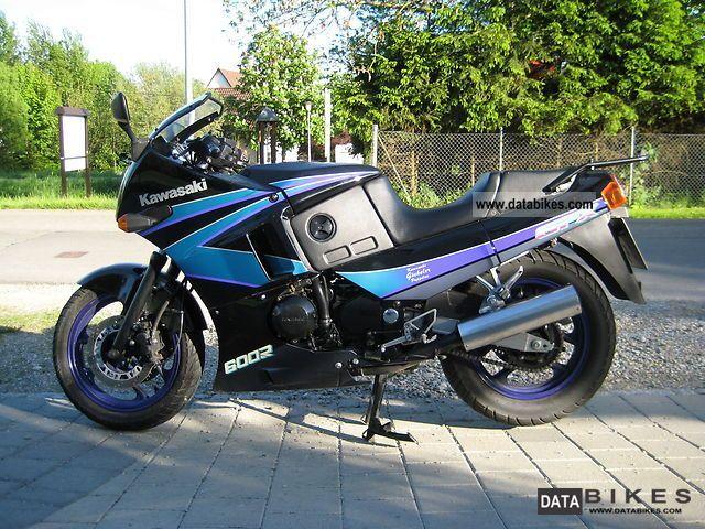 1999 Kawasaki  GPX 600 R Motorcycle Motorcycle photo