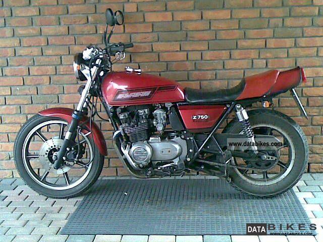 1982 Kawasaki KZ 550/650