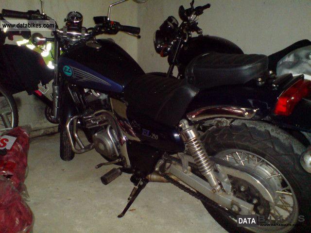 1995 Kawasaki  EL 250 B Motorcycle Chopper/Cruiser photo