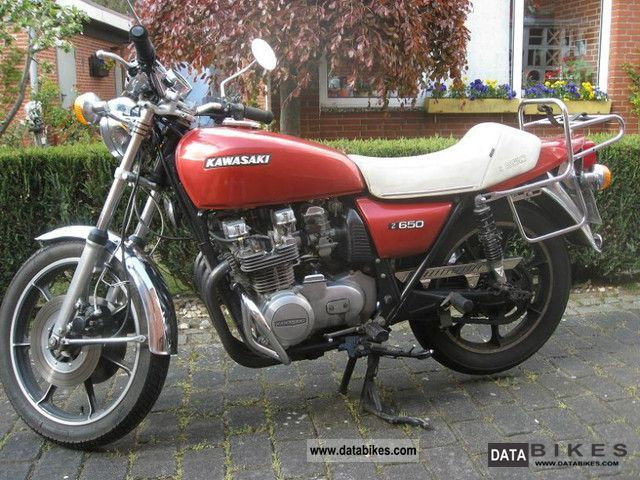 1978 Kawasaki  KZ 650 B Motorcycle Naked Bike photo