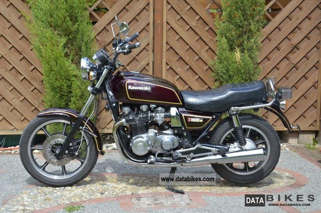1984 Kawasaki Z 1100 St