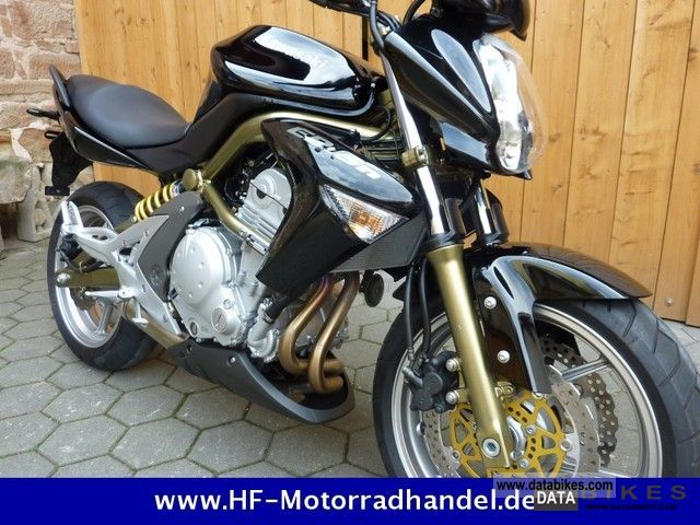 2006 Kawasaki  ER 6N / / TOP / / with warranty located. Motorcycle Naked Bike photo