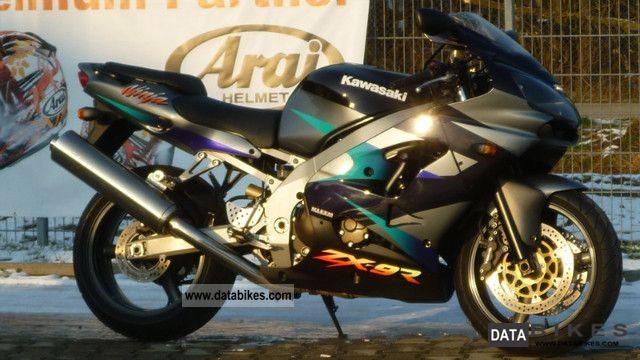 2001 Kawasaki  ZX 9 R Motorcycle Sports/Super Sports Bike photo