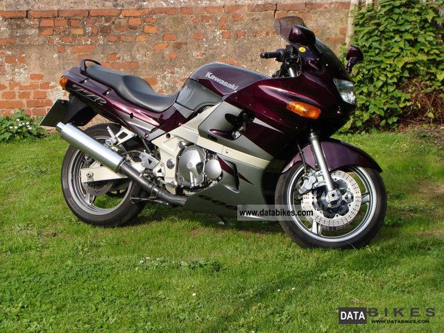 Kawasaki ZZR 600 ZX E 1998 Sport Touring Motorcycles Photo