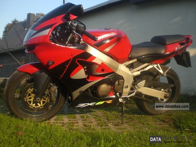 1999 Kawasaki  ZX-6R Motorcycle Sports/Super Sports Bike photo