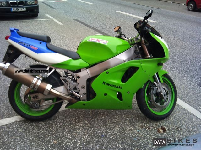 1993 Kawasaki  ZXR 750 L Motorcycle Sports/Super Sports Bike photo