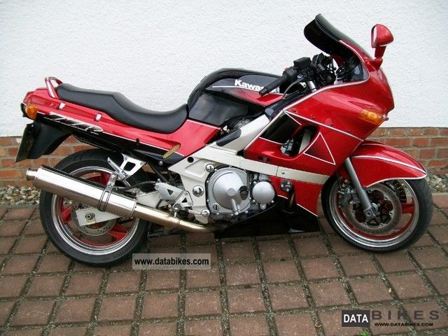 2001 Kawasaki  ZZR 600 Motorcycle Sport Touring Motorcycles photo