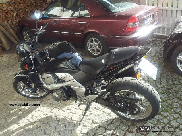2007 Kawasaki  z 750 Motorcycle Naked Bike photo