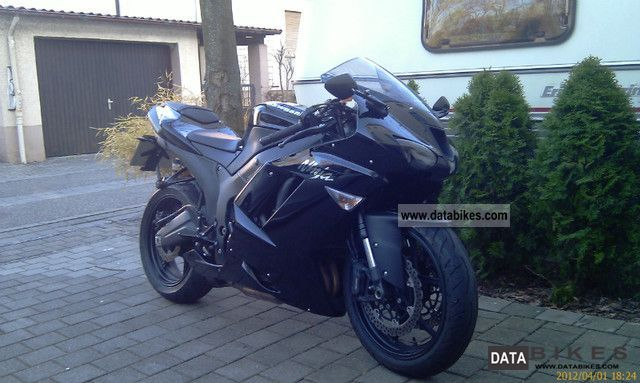 2009 Kawasaki  ZX 6 R Motorcycle Sports/Super Sports Bike photo