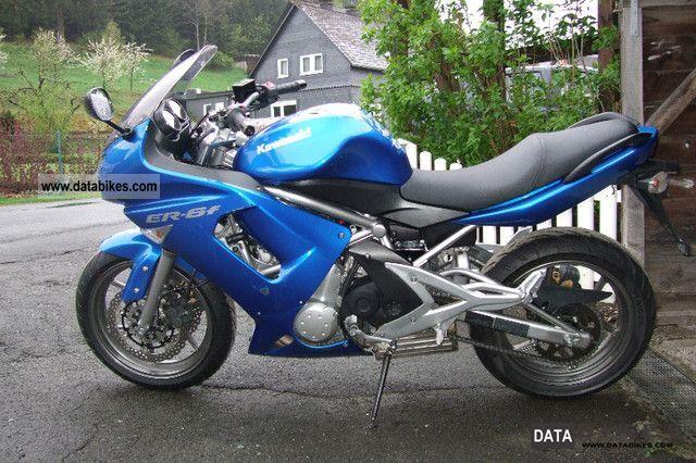 2007 Kawasaki  ER6F Motorcycle Sport Touring Motorcycles photo