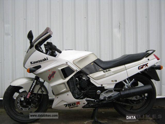 1987 Kawasaki  GPX 750 R ZX 750 F Motorcycle Motorcycle photo
