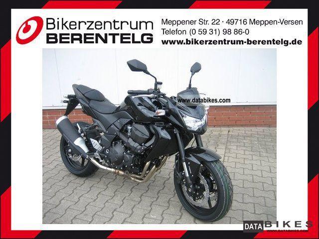 2011 Kawasaki  Z 750 Motorcycle Naked Bike photo