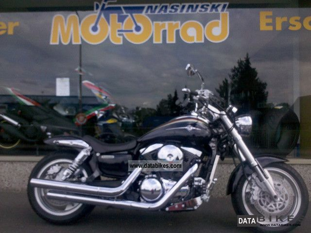 2003 Kawasaki  Vulcan 1500 Mean Streak TOP! Motorcycle Chopper/Cruiser photo