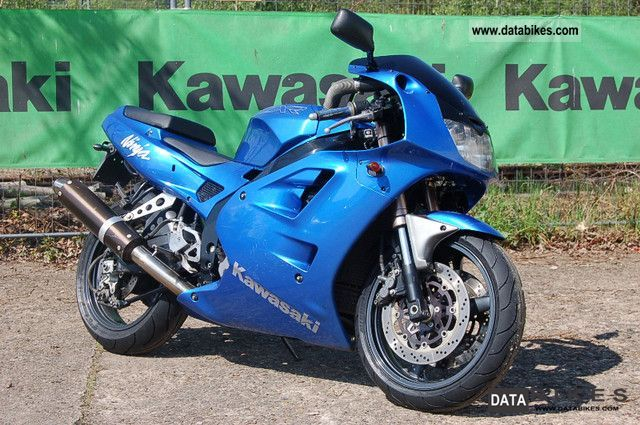 1993 Kawasaki ZXR400 Motorcycle Sports Super Bike Photo