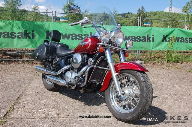 2003 Kawasaki  VN800 Classic Motorcycle Chopper/Cruiser photo