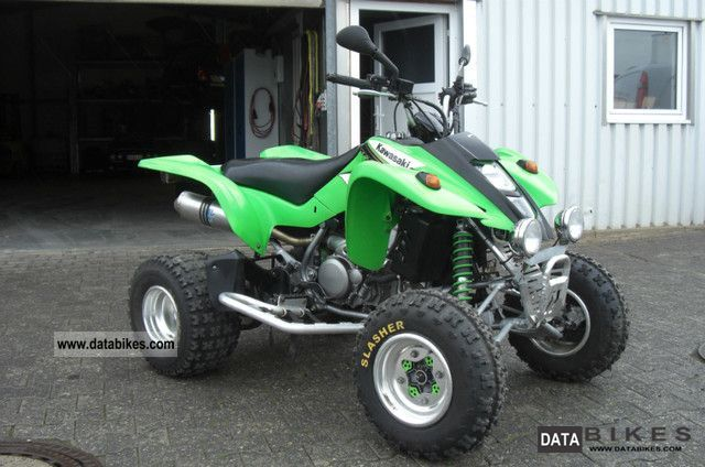 2003 Kawasaki  KFX 400 LTZ 400 Motorcycle Quad photo