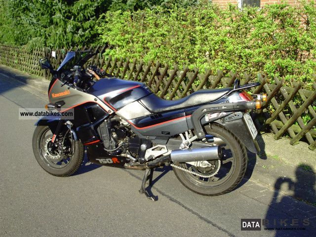 1987 Kawasaki  GPX 750 R Motorcycle Motorcycle photo