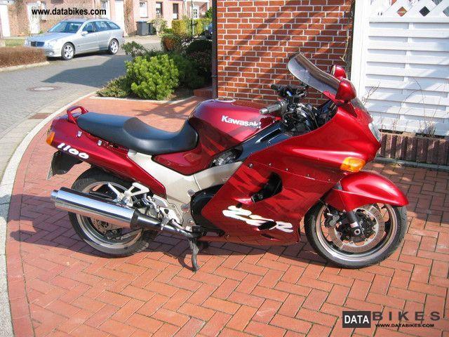 1995 Kawasaki  ZZR1100 Motorcycle Sport Touring Motorcycles photo