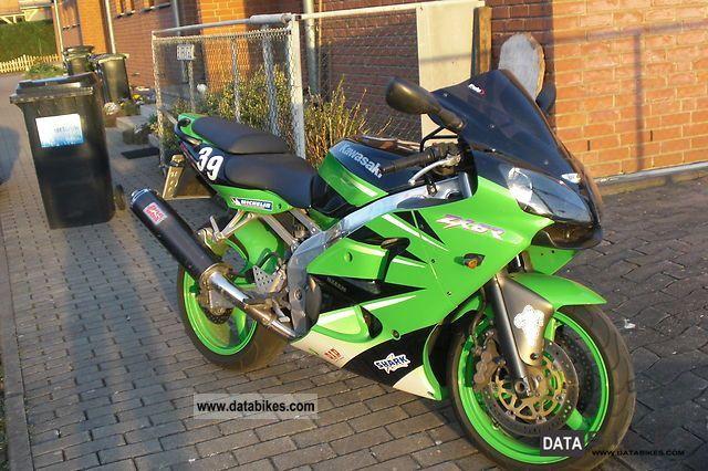 1998 Kawasaki  ZX-6R Motorcycle Sports/Super Sports Bike photo