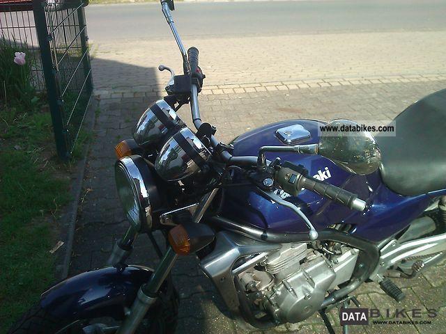 1998 Kawasaki  Er 5 Twister Motorcycle Naked Bike photo