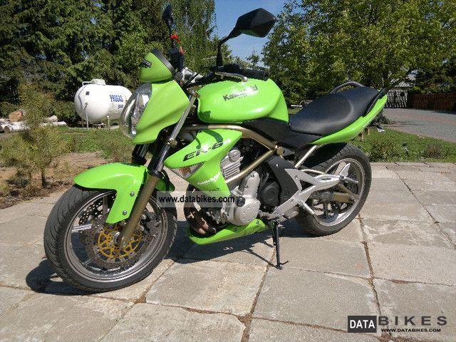 2006 Kawasaki  ER-6N Motorcycle Sport Touring Motorcycles photo