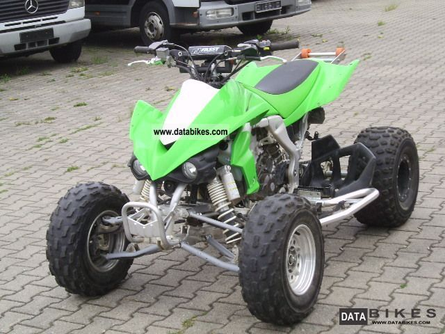 2008 Kawasaki  KSF 450B Motorcycle Quad photo