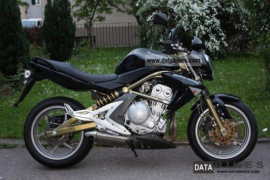 2005 Kawasaki  ER-6N Motorcycle Naked Bike photo