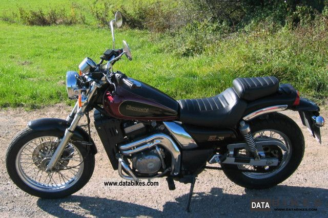 1993 Kawasaki  el 250 b Motorcycle Chopper/Cruiser photo