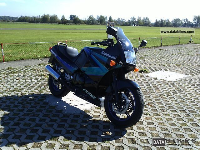1996 Kawasaki  GPX 600 R Motorcycle Sports/Super Sports Bike photo