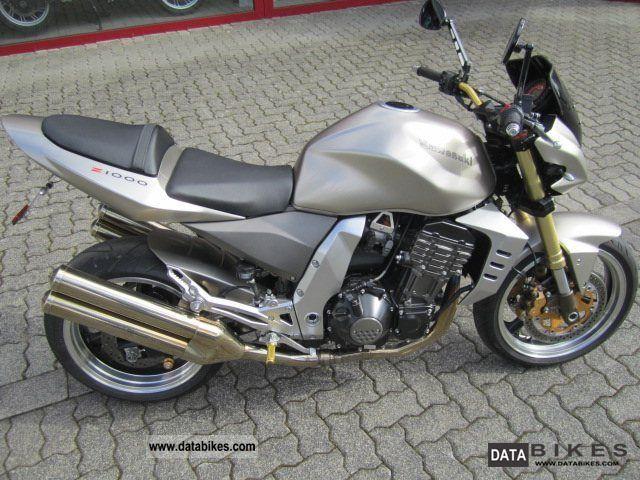 2006 Kawasaki  Z 1000 Motorcycle Naked Bike photo