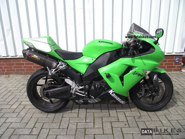 2007 Kawasaki  Akrapovic ZX10R ZX 10 R TOP Motorcycle Sports/Super Sports Bike photo