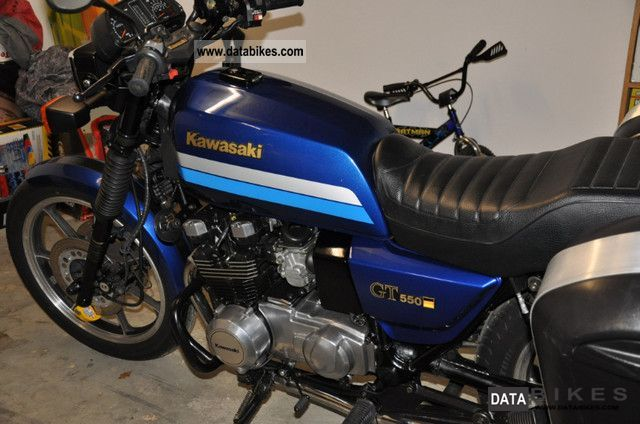 1990 Kawasaki  Z550GT Motorcycle Tourer photo
