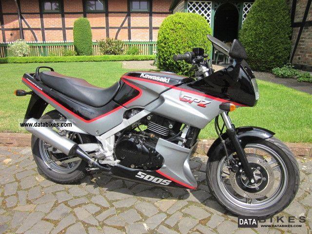 1993 Kawasaki GPZ 500 S + 2.Hand only 10 000 KM!