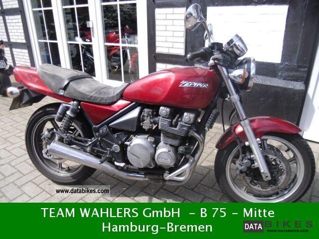1991 Kawasaki  Zephyr 550 Motorcycle Motorcycle photo