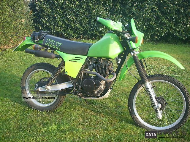 1982 Kawasaki  KLX 250 B Twinshock Motorcycle Enduro/Touring Enduro photo