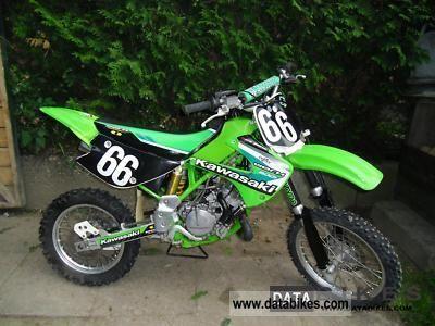 2002 Kawasaki  kx 85 Motorcycle Rally/Cross photo